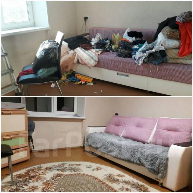 Клининг(уборка)квартир, офисов, химчистка, мойка окон, аутсорс