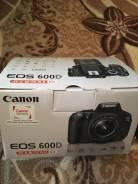 Canon EOS 600D. 15 - 19.9 Мп, зум: 7х