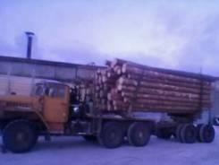 Урал 4320. Продаётся Урал Лесовоз-роспуск (1994 года), 7 000 куб. см., 20 000 кг.