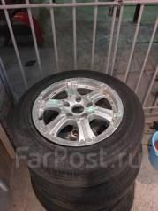 Колёса r15 литые с летней резиной. 6.5x15 5x114.30 ET38
