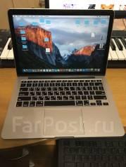 "Apple MacBook Pro 13 2015 Late MF839 with Retina display. 13.3"", 2,7ГГц, ОЗУ 8192 МБ и больше, диск 256 Гб, WiFi, аккумулятор на 12 ч."