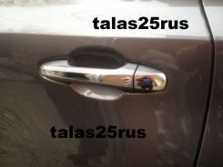 Накладка на ручки дверей. Toyota Highlander