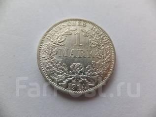1 марка 1914 года. Серебро.