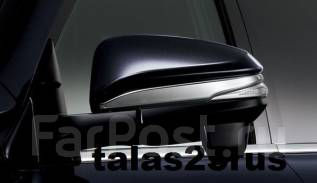 Накладка на зеркало. Toyota Noah, ZRR80G, ZRR80W, ZRR85, ZWR80, ZRR85G, ZRR85W, ZRR80, ZWR80G, ZWR80W