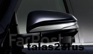 Накладка на зеркало. Toyota Voxy, ZRR85G, ZRR85W, ZRR85, ZRR80W, ZRR80G, ZWR80, ZRR80