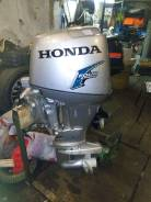 Honda. 30,00л.с., 4х тактный, бензин, нога S (381 мм), Год: 2002 год