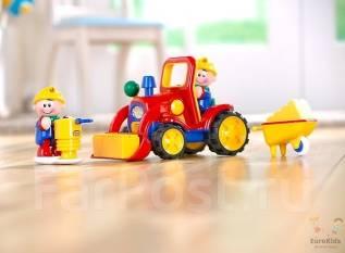 Детская развивающая игрушка Tolo Первые друзья, Трактор 1-5 лет