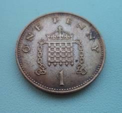 Великобритания, 1 пенни 1996