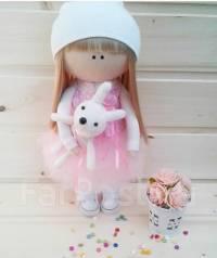 Интерьерная кукла ручной работы. Под заказ