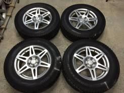 R16 диски Bridgestone CV201 + 215/70R16 как новые (ЗИМА) №M-KO13.9. 6.5x16 5x114.30 ET40