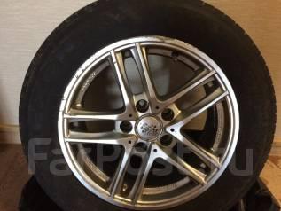Продам шины с литыми дисками лето. x16 3x98.00, 5x115.00