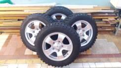 Комплект колес на Шеви Ниву 215/65 R16 Cordiant Offroad. 7.0x16 5x139.70 ET40 ЦО 98,0мм.