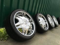 Giovanna Ararat R22 5х114.3 и 5х120+ pirelli 265/35/22 из Японии. 9.0/9.0x22 5x114.30, 5x120.00 ET10/35 ЦО 74,0мм.