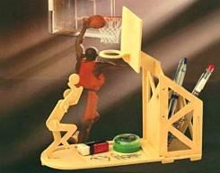 Подставка для карандашей и ручек «Баскетболист» (сделай сам)
