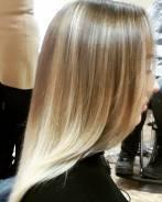 Окрашивание волос Омбре. Шатуш Балаяж. Стрижки. 2 речка