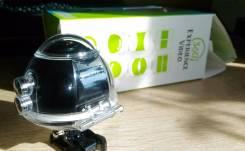 Экшн камера 360. 15 - 19.9 Мп, с объективом