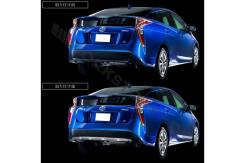 Молдинг на бампер. Toyota Prius, ZVW50, ZVW55, ZVW51 Двигатель 2ZRFXE