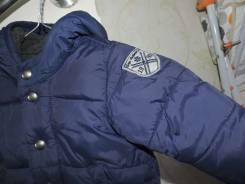 Детская куртка + шапочка. Рост: 68-74, 74-80 см