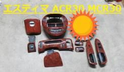 Консоль панели приборов. Toyota Estima Hybrid, AHR10W Toyota Estima, MCR30W, MCR40W, ACR30, ACR40, AHR10, MCR30, ACR30W, ACR40W, MCR40, AHR10W Двигате...
