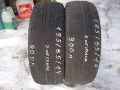 Bridgestone Blizzak MZ-02. Зимние, без шипов, 2008 год, износ: 70%, 2 шт