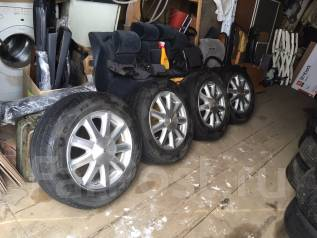 Продам комплект колес от UZS171 Crown Majesta. 6.5x16 5x114.30 ET50