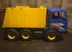 Игрушка грузовик желтый и синий самосвал