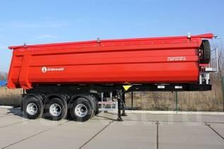 Grunwald. Самосвальный полуприцеп Gr-TSt 38, 42 000 кг.