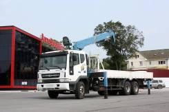 Daewoo Novus. 6x4 с кму DongYang 1506 (7 тонн) сборка Ю. Корея, 11 051 куб. см., 15 000 кг.