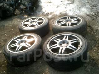 Комплект колес Speedline R17 8JJ + резина лето!. 8.0x17 5x100.00 ET35