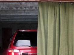 Штора брезентовая на гаражные ворота.