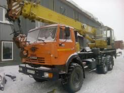 Камаз. Продаю автокран КамАЗ вездеход 16 тонн., 14 000 куб. см., 16 000 кг., 18 м.