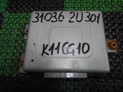 Блок управления автоматом. Nissan March Box, WK11 Nissan March, ANK11, HK11, FHK11, WK11, K11, WAK11, AK11 Двигатели: CG10DE, CGA3DE, CG13DE