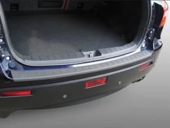 Накладка на бампер. Mitsubishi ASX