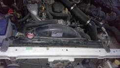 Радиатор охлаждения двигателя. Nissan Terrano, PR50, RR50, JRR50 Nissan Terrano Regulus, JRR50 Двигатели: QD32TI, TD27TI, QD32ETI, TD27ETI