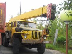 Урал 4320. Продам автокран на запчасти, 11 150 куб. см., 16 000 кг., 15 м.