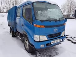 Toyota Toyoace. Продам мостовой двухкабинник 2001 года, 4 600 куб. см., 2 000 кг.