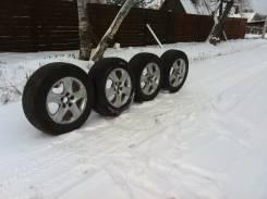 Шикарный комплект колес на 17 ( резина+литье ). Отправлю в регионы РФ. 8.0x17 5x114.30