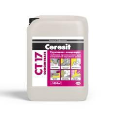 Ceresit CT 17 Concentrate. Грунтовка-концентрат 10л. морозостойкая