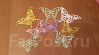 Ажурная бабочка - набор вырубки 8 шт.