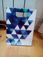 Подарочный пакет для мужчин Avon 15*16*8см. В наличии 2шт.