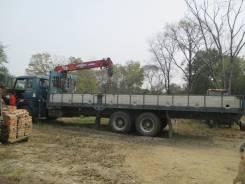 Hino FR. Кран манипулятор, 17 000 куб. см., 10 000 кг.