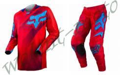 Штаны+Джерси Fox 32/M Красно синий Fox 360 Flight (10767-003-32)/(10766-003-M)