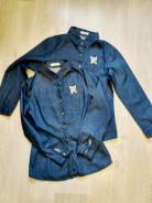 Рубашки джинсовые. 40-48
