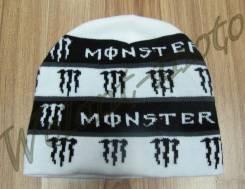Шапка Бело-черный Monster