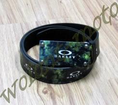 Ремень бляшка черно-зеленая черно-фиолетвый Dakley