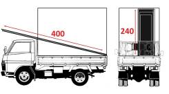 Тентованные грузовики.