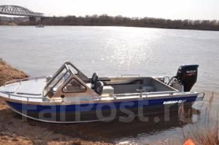 Rusboat-52. Год: 2017 год, длина 5,20м., двигатель подвесной, 115,00л.с., бензин. Под заказ
