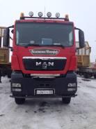 MAN TGS. Тягач МАН 6x6, 10 500 куб. см., 33 000 кг.