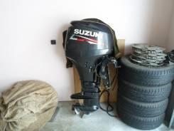 Suzuki. 50,00л.с., 4х тактный, бензин, нога L (508 мм), Год: 2011 год