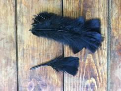 Перо чёрное для рукоделия